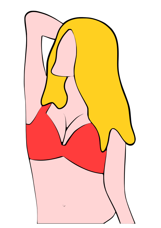 Woman in Bikini - Torso