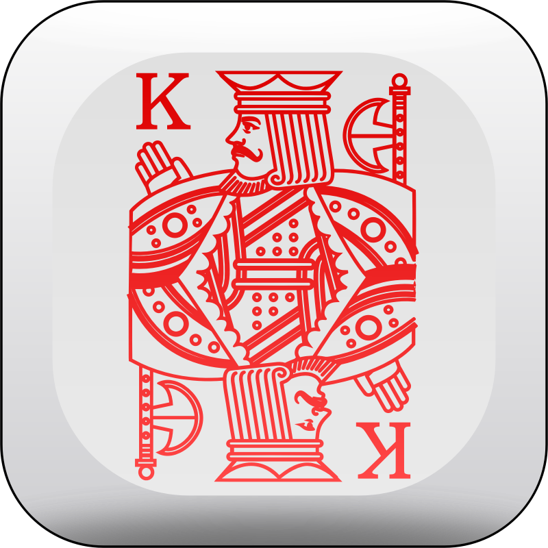 Poker dice - king