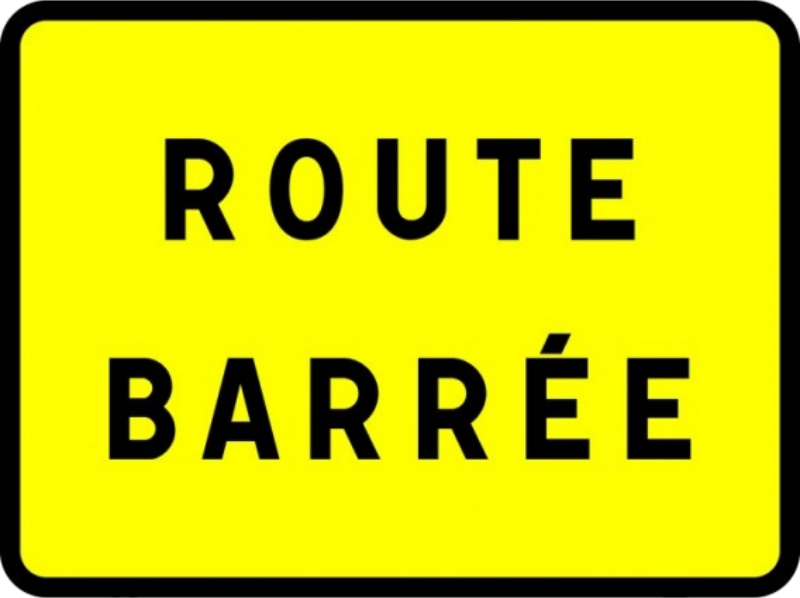 Route barrée KC1