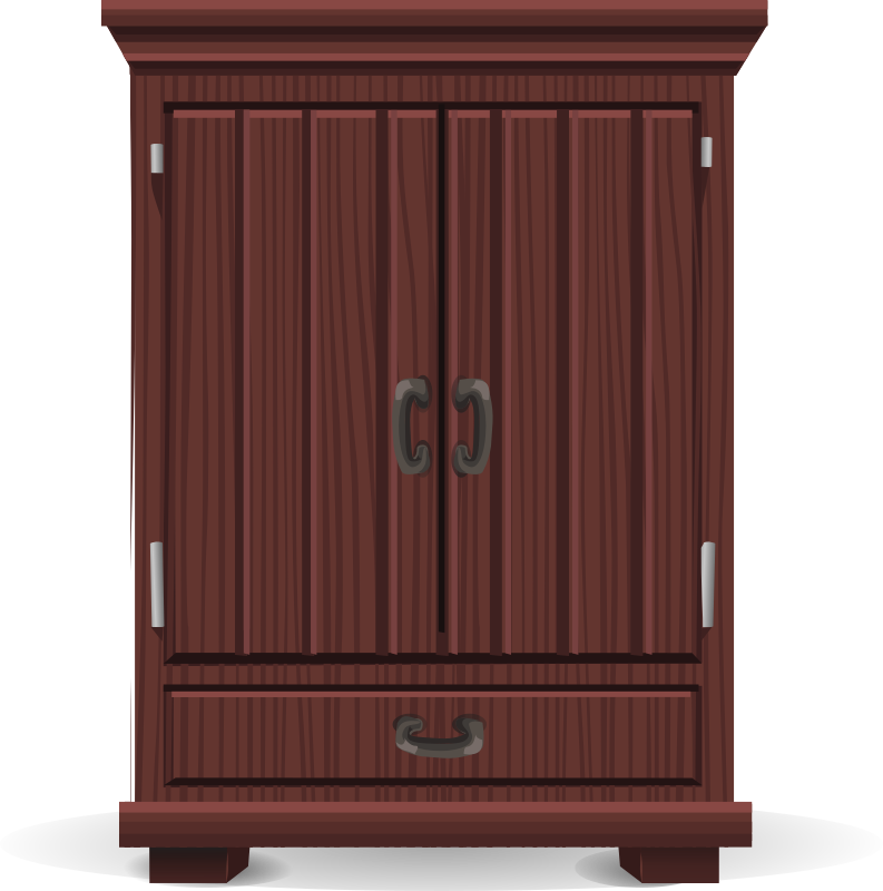 Mahogany cabinet from Glitch