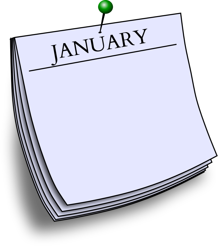 Monthly note - January