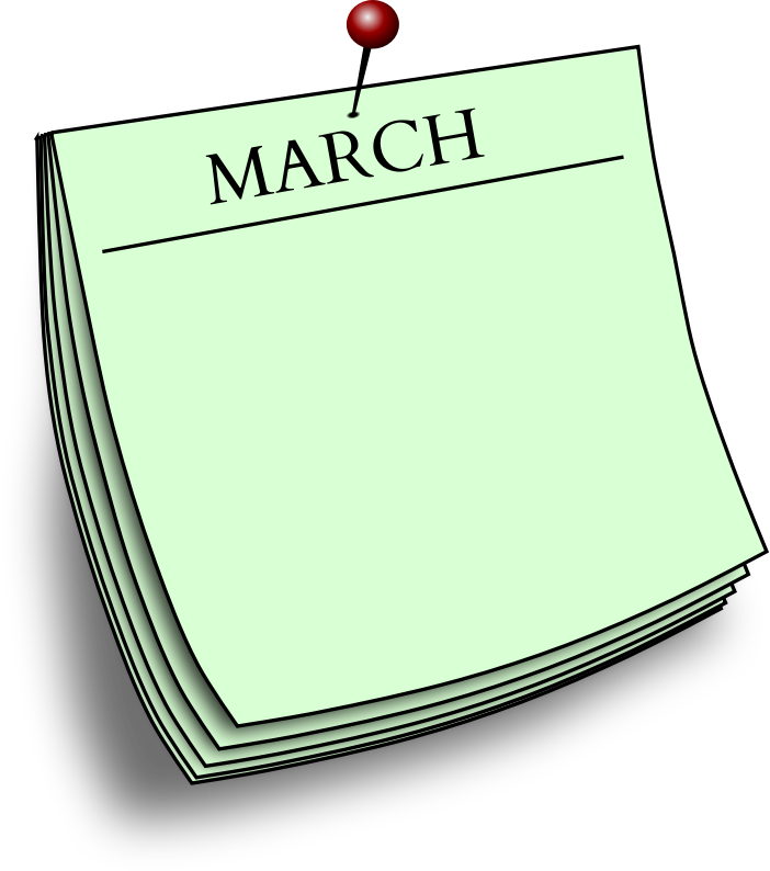 Monthly note - March