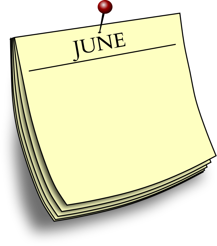 Monthly note - June