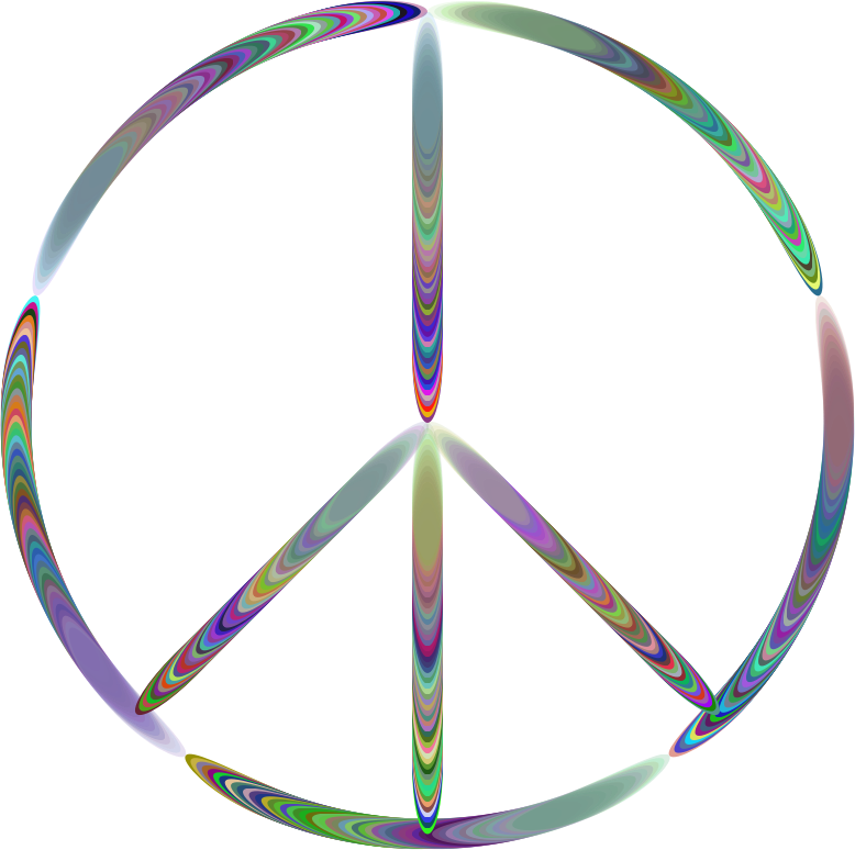Sixties Groovy Peace Sign