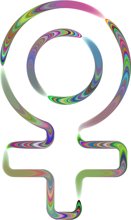 Sixties Groovy Female Symbol