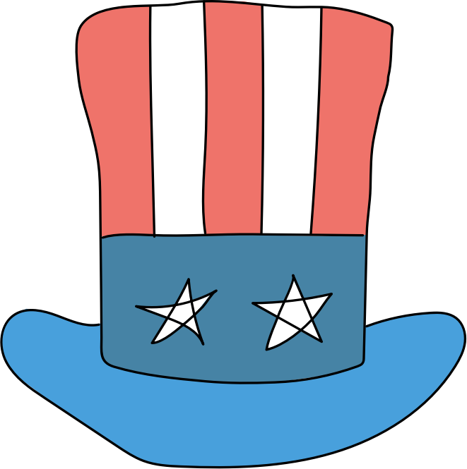 Usa Hat for Videoscribe