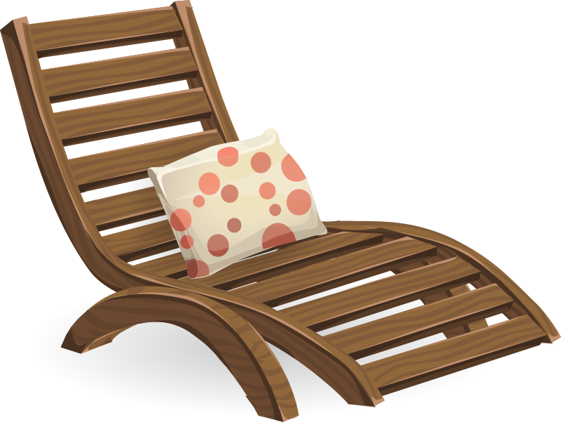 Deck chair from Glitch