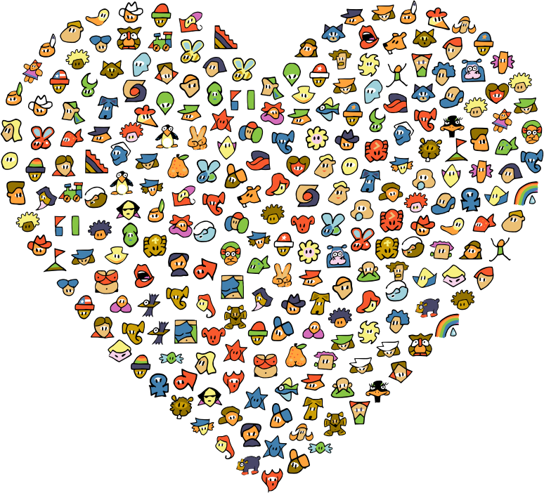 Chat Avatar Icons Heart