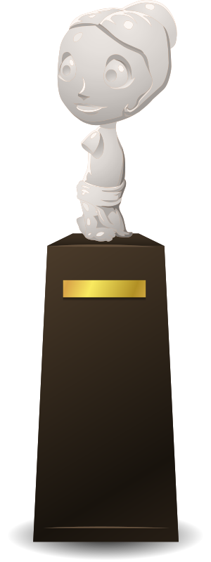 Statue on a pedestal from Glitch