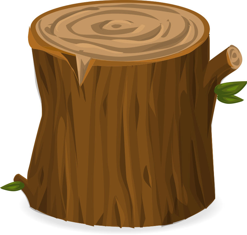 Tree stump from Glitch