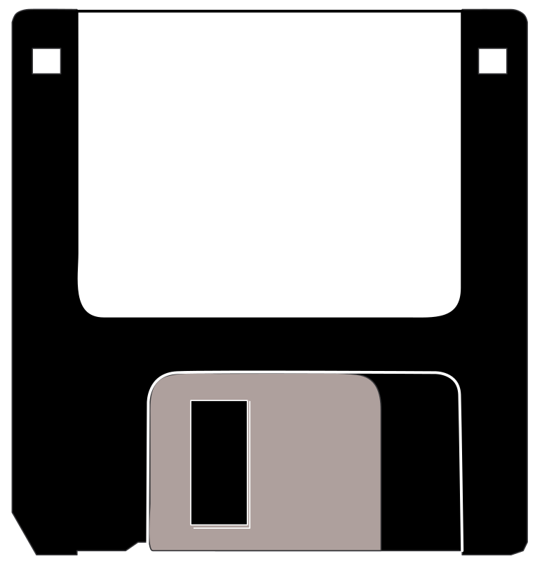 old three and a half diskette