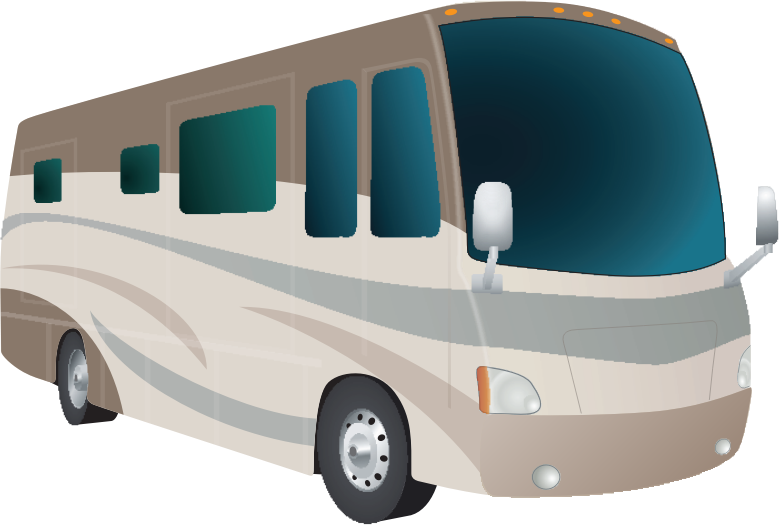 Motorhome Cartoon