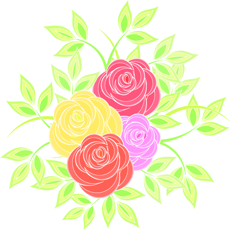 Roses 7 (colour 3)