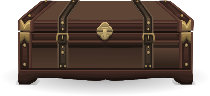 Antique suitcase from Glitch