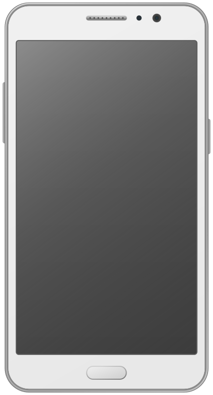 Smartphone with touch display