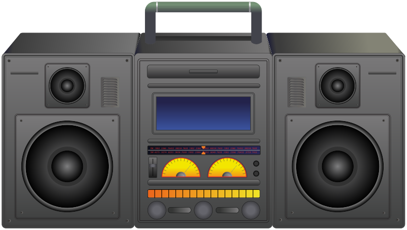 Boombox - portable music player