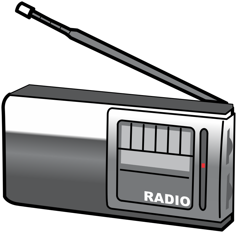 Simple portable radio