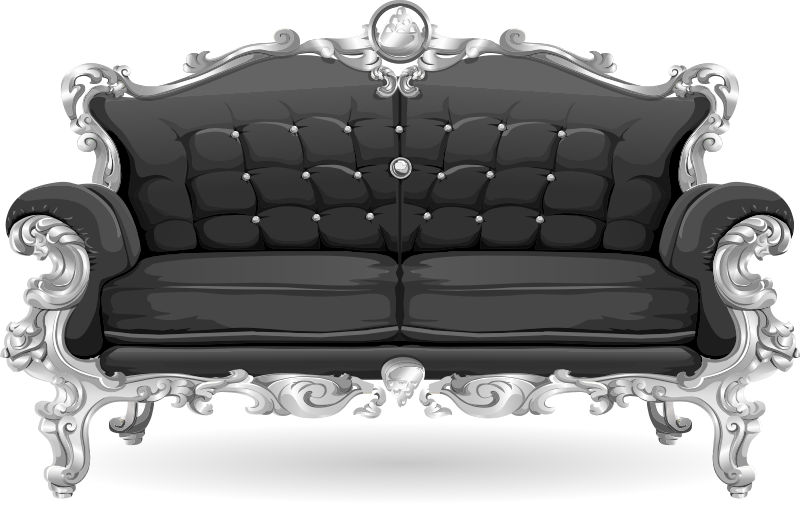 Baroque sofa from Glitch