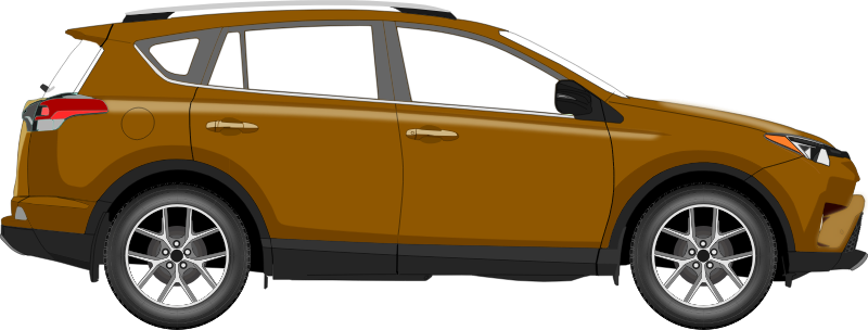 Car 14 (brown)