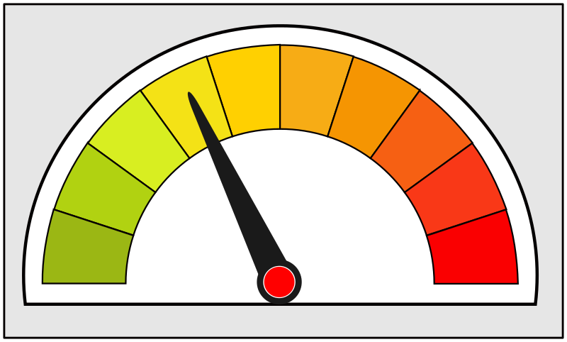 Simple meter / indicator icon