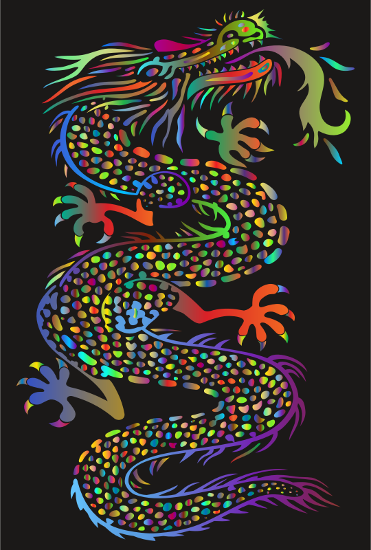 Chromatic Asian Dragon
