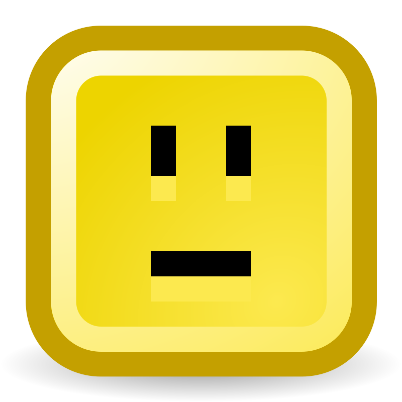 No smile icon