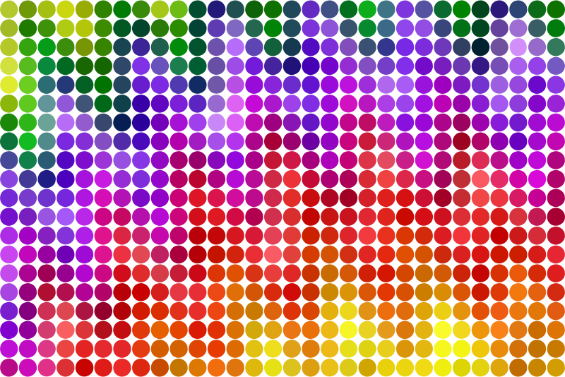 Colourful background 27 in dots