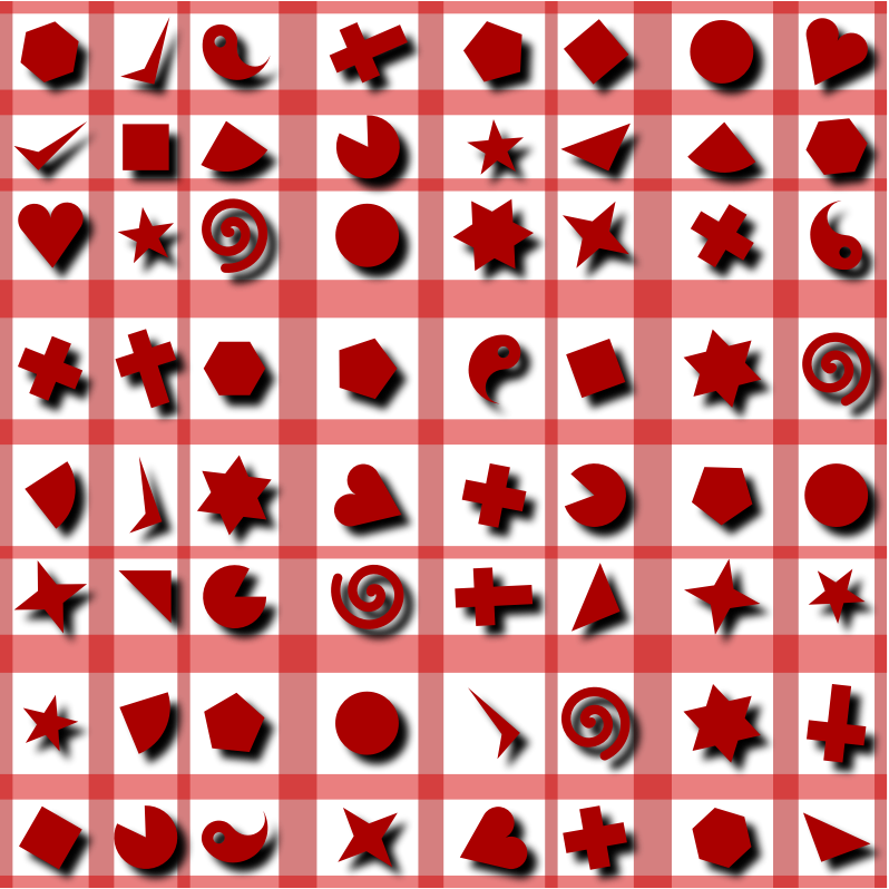 Shapes pattern 2