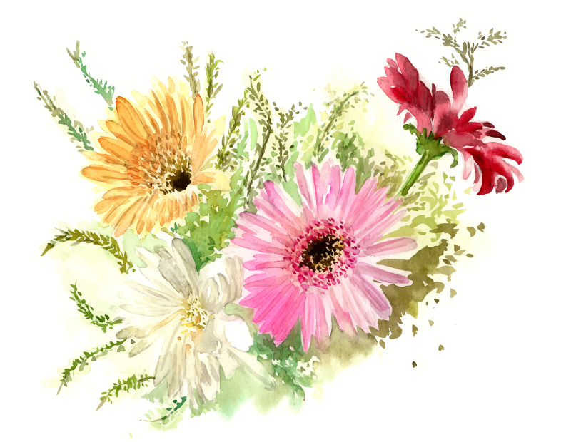 cristieleung's Flowers vectorised