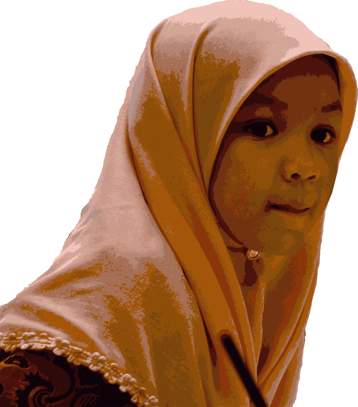 Young Girl in Hijab