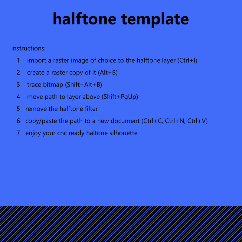 halftone template