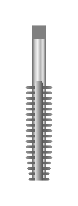 Screw threading tap