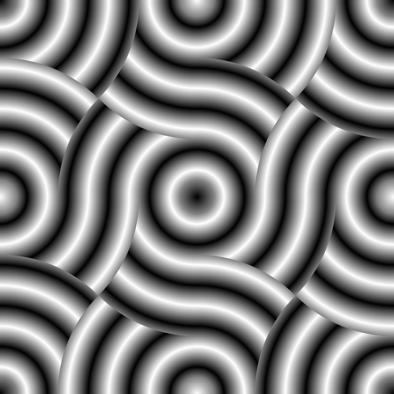 wave-dot pattern 2