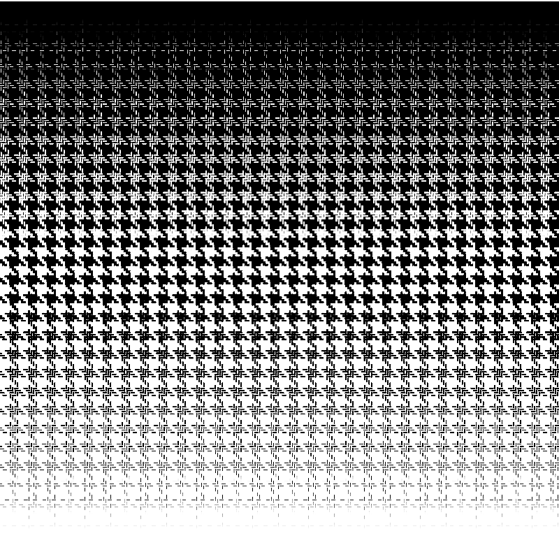 houndstooth halftone template