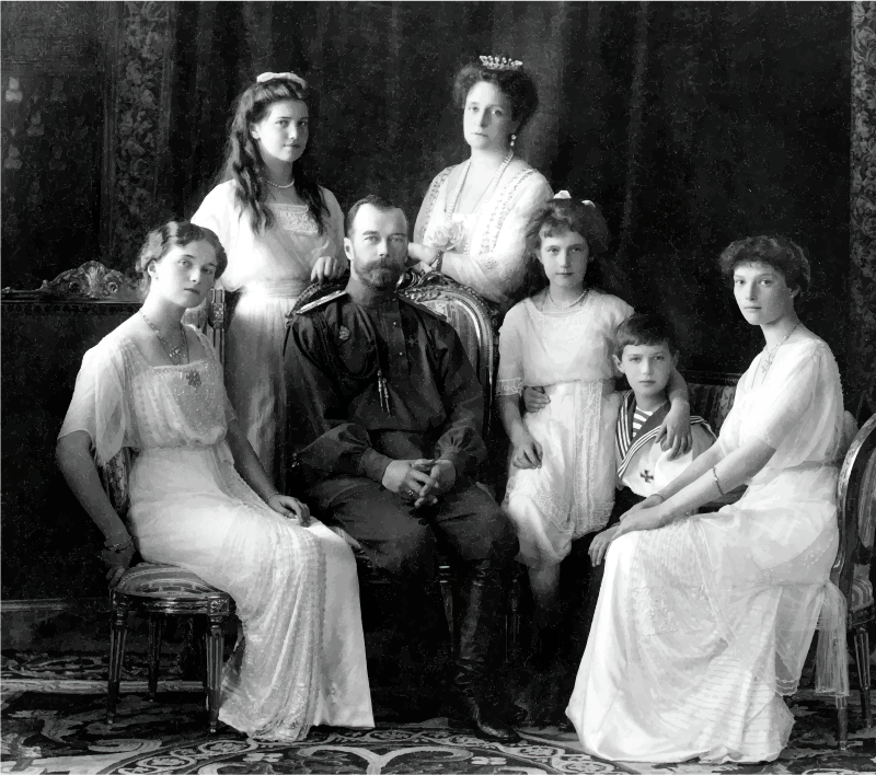 Russian Imperial Family 1913