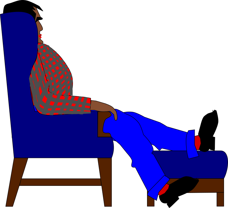 Man in an Easychair
