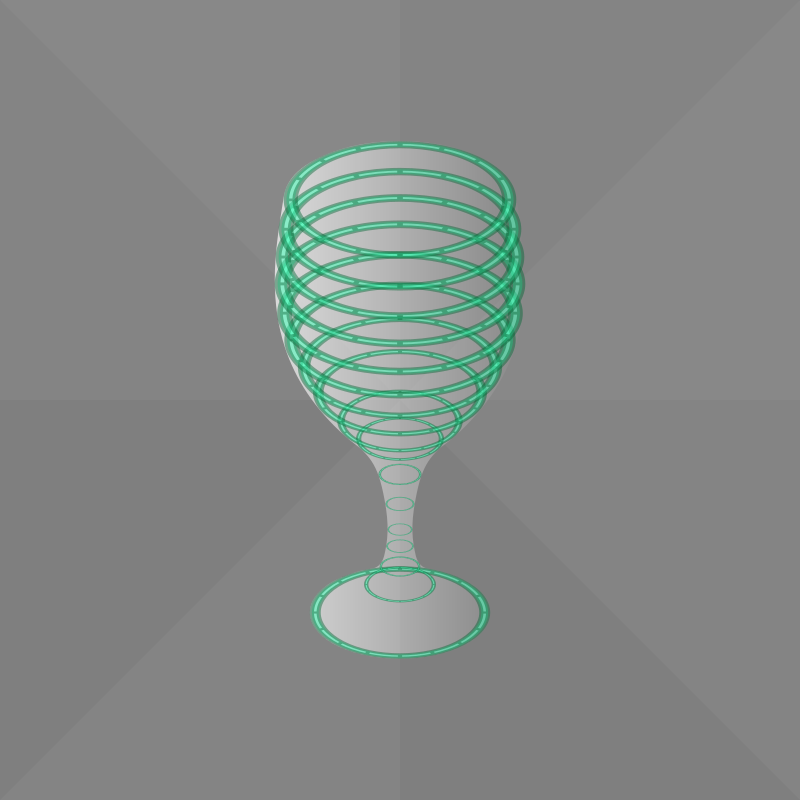 wine glass (animated)