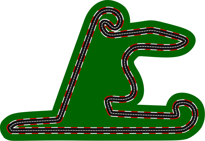 F1 circuits 2014-2018 - Shanghai International Circuit (version 2)