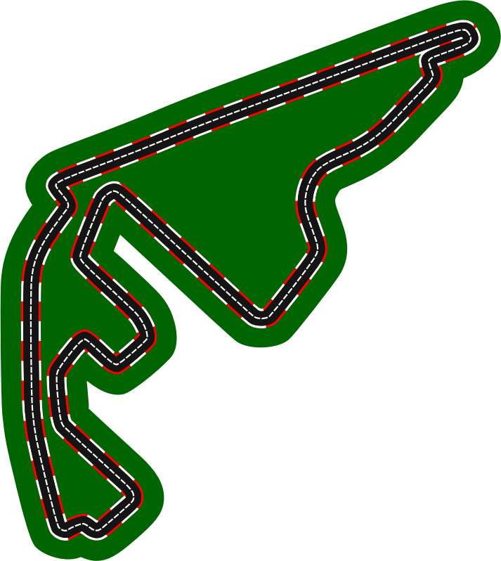 F1 circuits 2014-2018 - Yas Marina Circuit (version 2)