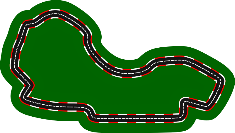 F1 circuits 2014-2018 - Melbourne Grand Prix Circuit (version 2)
