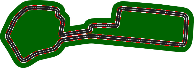 F1 circuits 2014-2018 - Baku City Circuit (version 2)