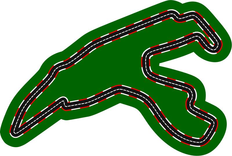 F1 circuits 2014-2018 - Circuit de Spa-Francorchamps (version 2)