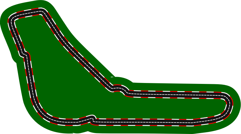 F1 circuits 2014-2018 - Autodromo Nazionale Monza (version 2)