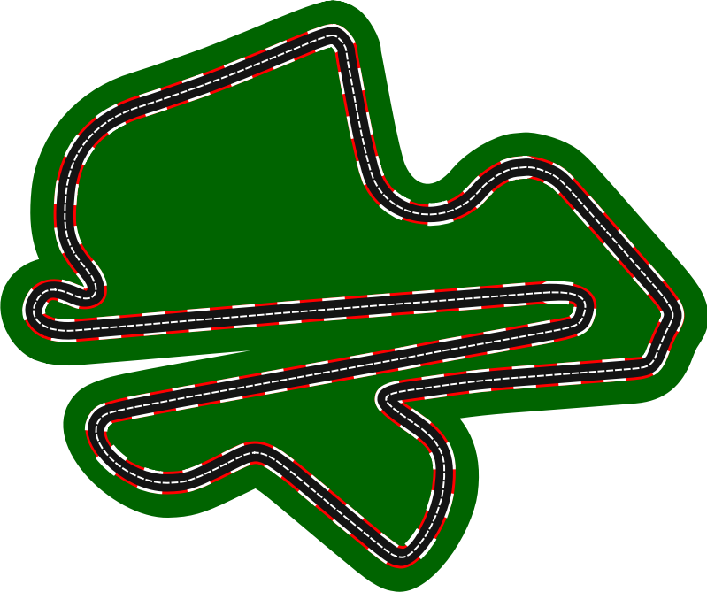 F1 circuits 2014-2018 - Sepang International Circuit (version 2)