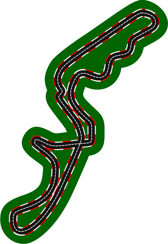 F1 circuits 2014-2018 - Suzuka Circuit (version 2)