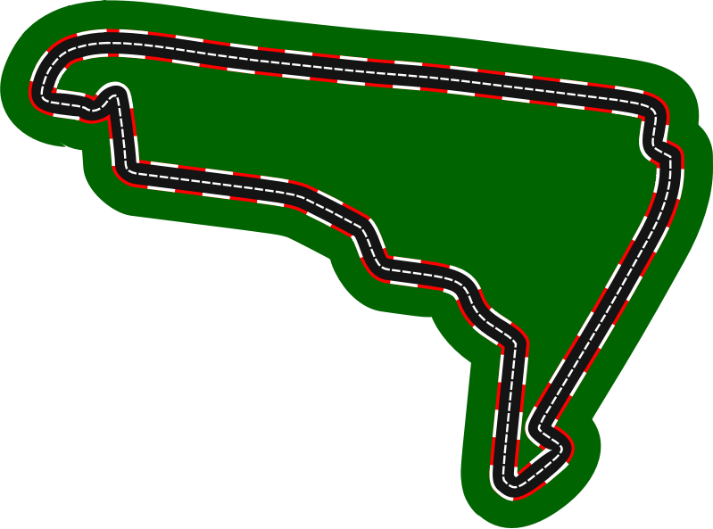 F1 circuits 2014-2018 - Autódromo Hermanos Rodríguez (version 2)
