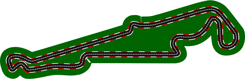 F1 circuits 2014-2018 - Paul Ricard Circuit (version 2)