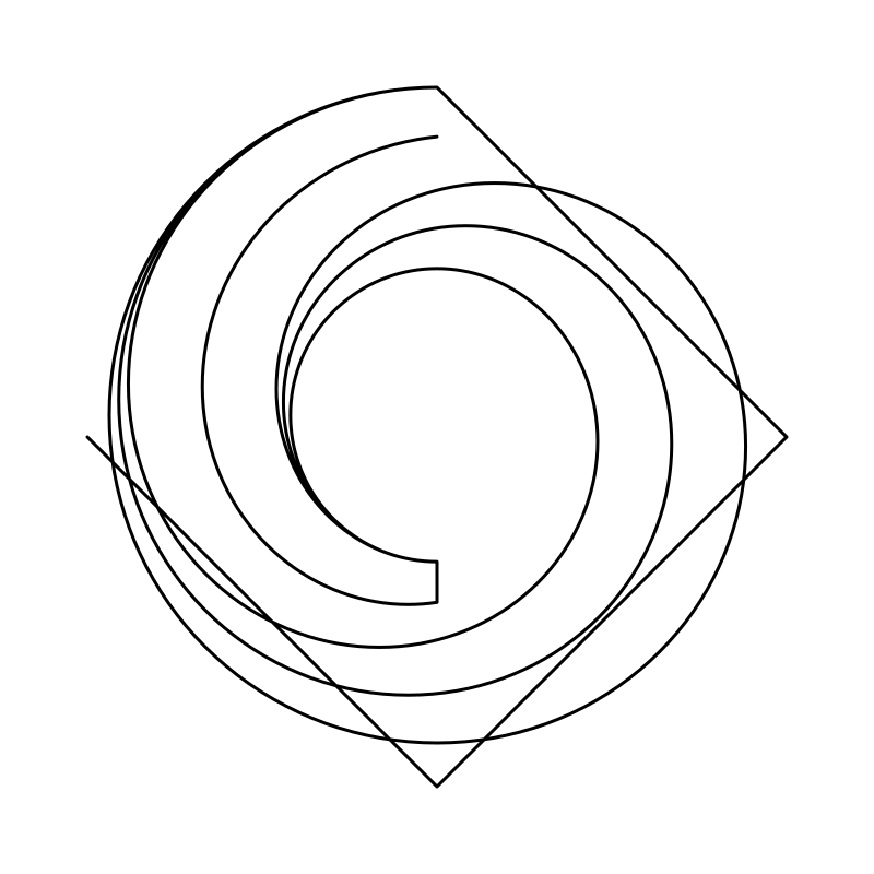 spiral ring interpolated