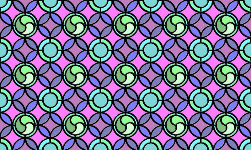 Leaded glass background (colour 5)