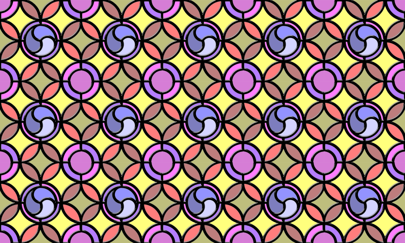 Leaded glass background (colour 6)